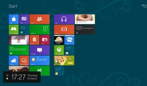 Interface Windows 8 Metro
