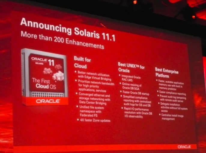 Oracle Solaris 11.1