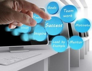 Success Icon Diagram by nokhoog_buchachon / Freedigitalphotos
