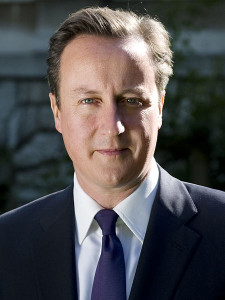 David Cameron Prime Minister of the United Kingdom